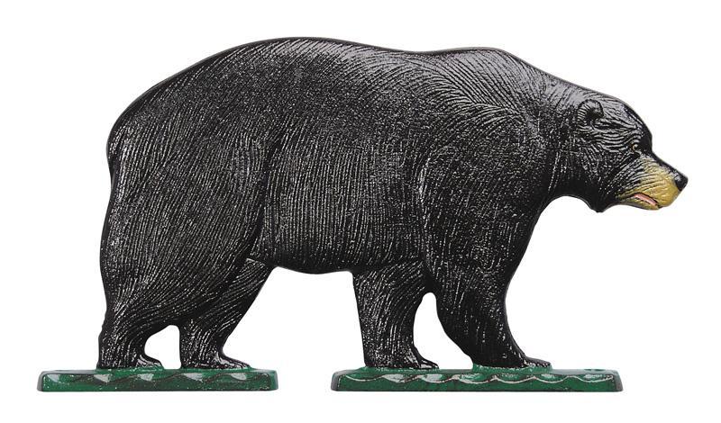 "30"" Black Bear Weathervane-0"