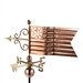 American Flag Weathervane Hand Crafted From Pure Copper -4649