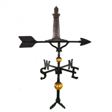 """Old Barn Rustic Co. 32"""" Deluxe Cape Cod Lighthouse Aluminum Weathervane-1371"""