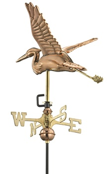 American Standard Blue Heron Weathervane-0