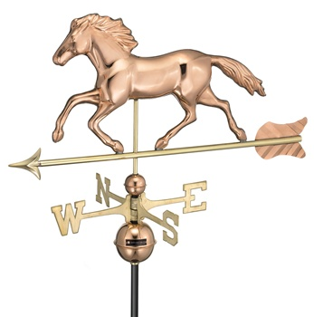 Smithsonian Running Horse 952 Weathervane By Good Directions -0