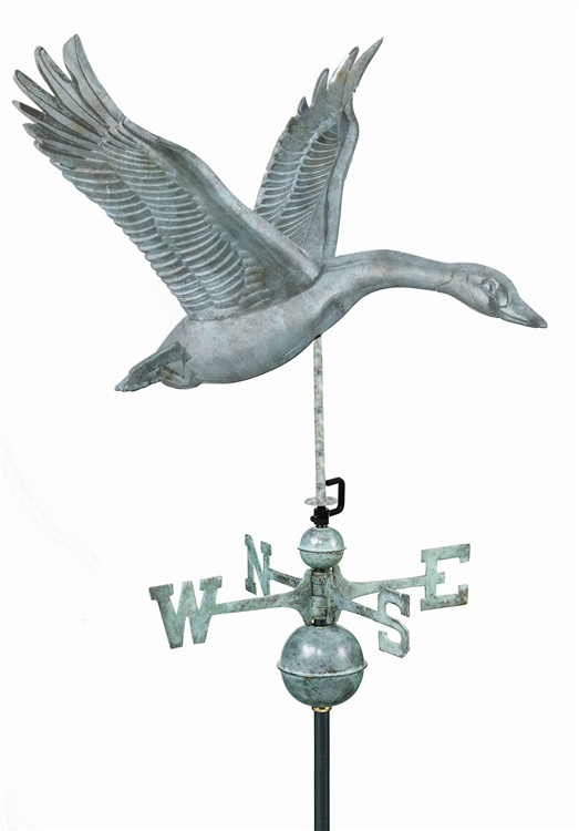 Goose Pure Copper Hand Crafted Weathervane -76