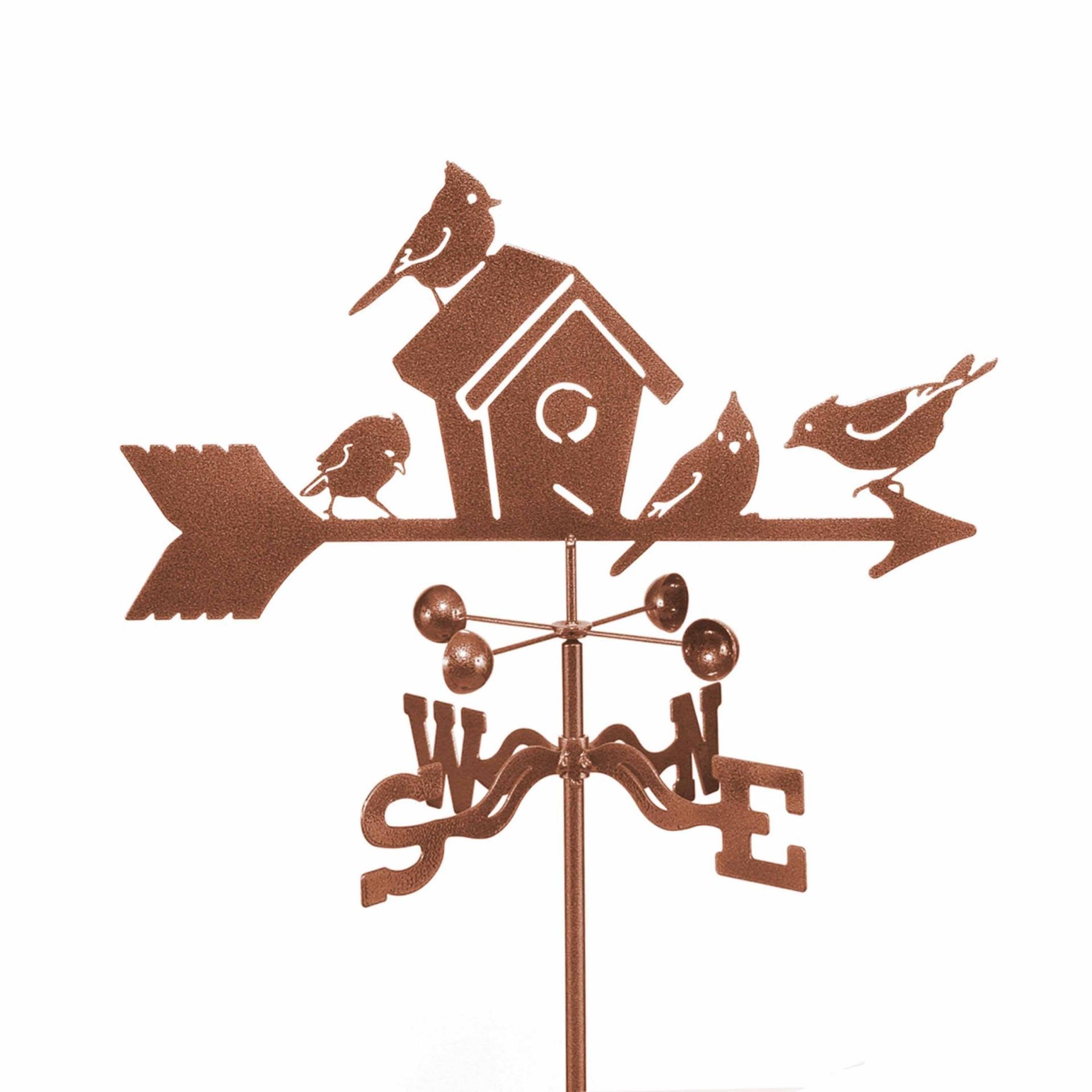 Birds & Birdhouse Weathervane-0