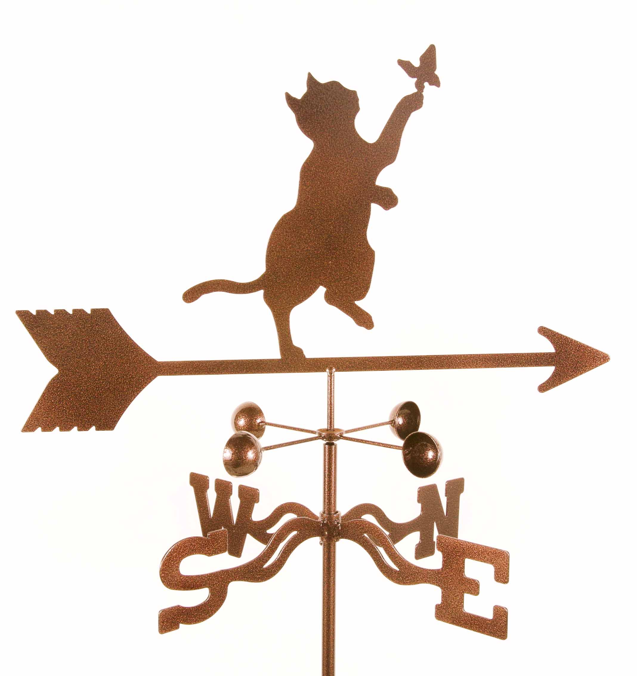 Cat and Butterfly Weathervane-0