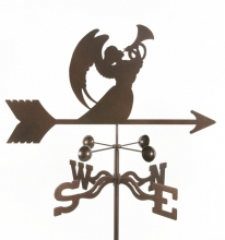 Angel with Horn Weathervane-0