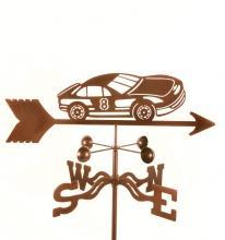 Race Car #8 Weathervane-0