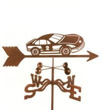 Race Car # 2 Weathervane-0