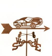 Race Car # 48 Weathervane-0