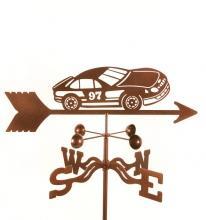 Race Car # 97 Weathervane-0
