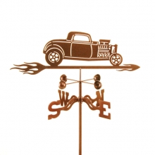 1932 Car with Blower Weathervane-0