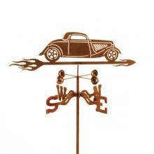 1934 Hot Rod Car Weathervane-0
