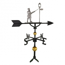 """Old Barn Rustic Co. 32"""" Deluxe Lamplighter Weathervane -1268"""