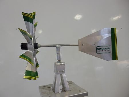 Eight Foot Ornamental Aluminum Windmill-4440