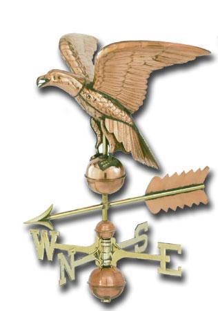 American Eagle Copper Weathervane-0