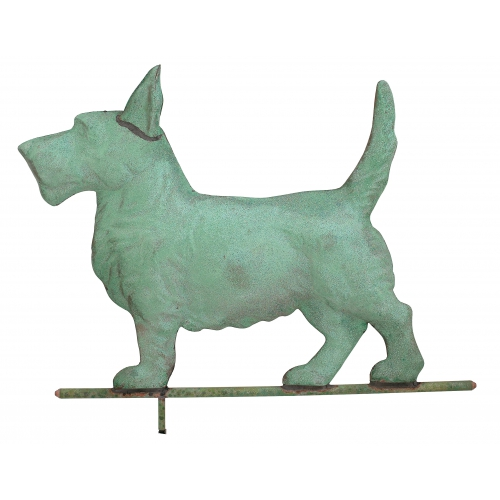 Scottie Dog Copper Weathervane-3943